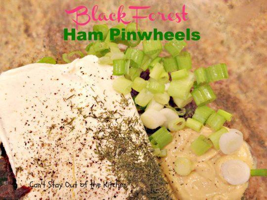 Black Forest Ham Pinwheels - IMG_3275
