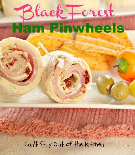 Black Forest Ham Pinwheels - IMG_8469