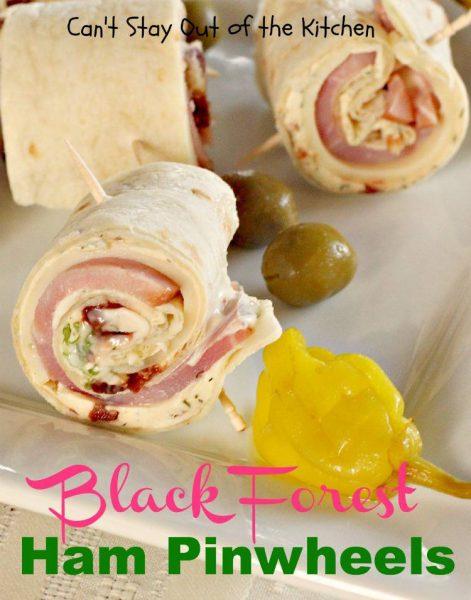 Black Forest Ham Pinwheels - IMG_8485
