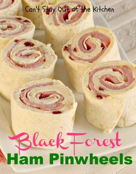 Black Forest Ham Pinwheels - IMG_8489