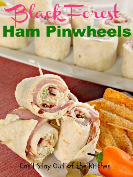 Black Forest Ham Pinwheels - IMG_8540
