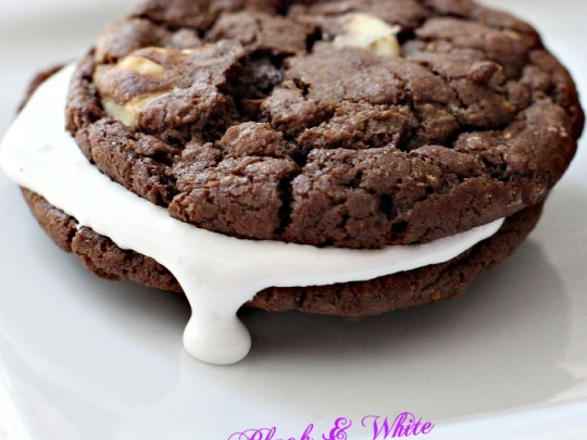 Black and White Cookie S'Mores | Can't Stay Out of the Kitchen ...