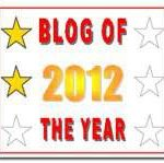 Blog of the Year 2012 Award – 2nd Star