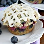 Blueberry Pecan Streusel Muffins | Can't Stay Out of the Kitchen