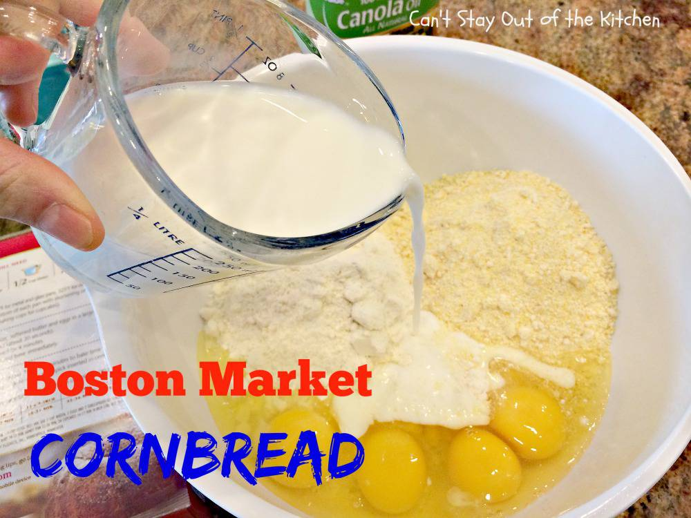 Disney Cornbread Recipe With Cake Mix