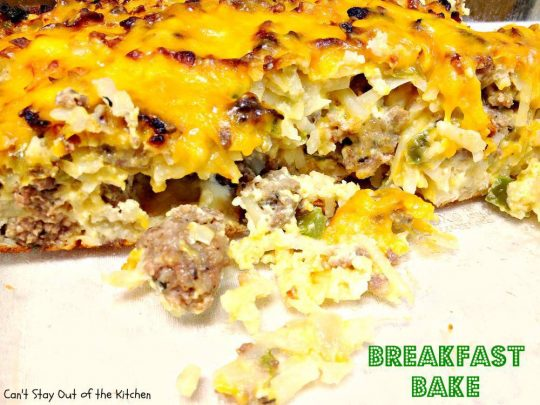 Breakfast Bake - Recipe Pix 25 061