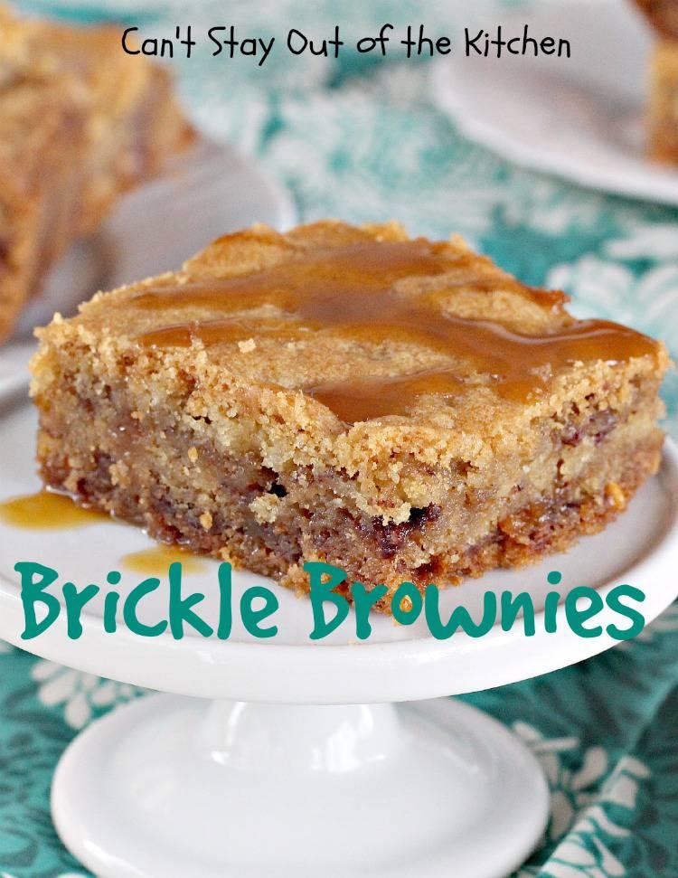 Brickle Brownies