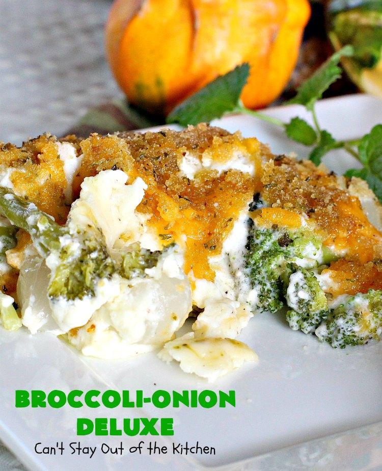 Broccoli-Onion Deluxe