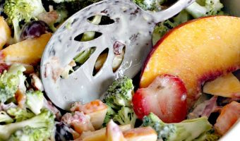 Broccoli Peach Salad
