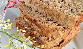Buttermilk Honey Walnut Bread