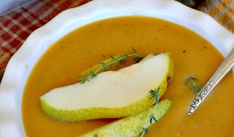 Butternut Squash-Bartlett Pear Soup