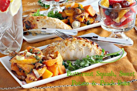 Butternut Squash, Sweet Potato and Peach Bake - IMG_1398