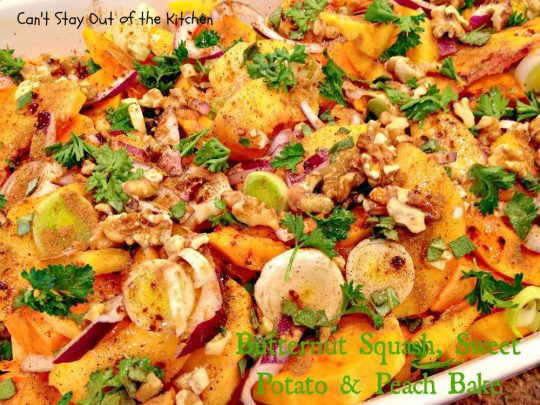 Butternut Squash, Sweet Potato and Peach Bake - IMG_6595