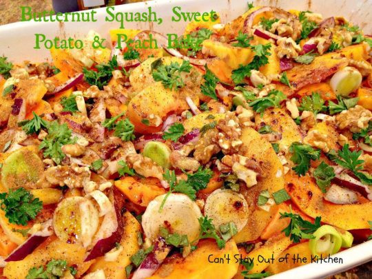 Butternut Squash, Sweet Potato and Peach Bake - IMG_6598