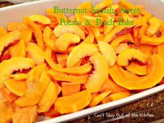 Butternut Squash, Sweet Potato and Pear Bake - IMG_6587