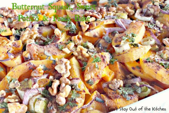 Butternut Squash,Sweet Potato and Peach Bake - IMG_1349