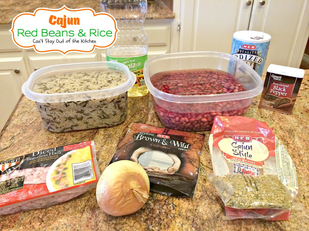 Cajun Red Beans and Rice | Can't Stay Out of the Kitchen | this ...