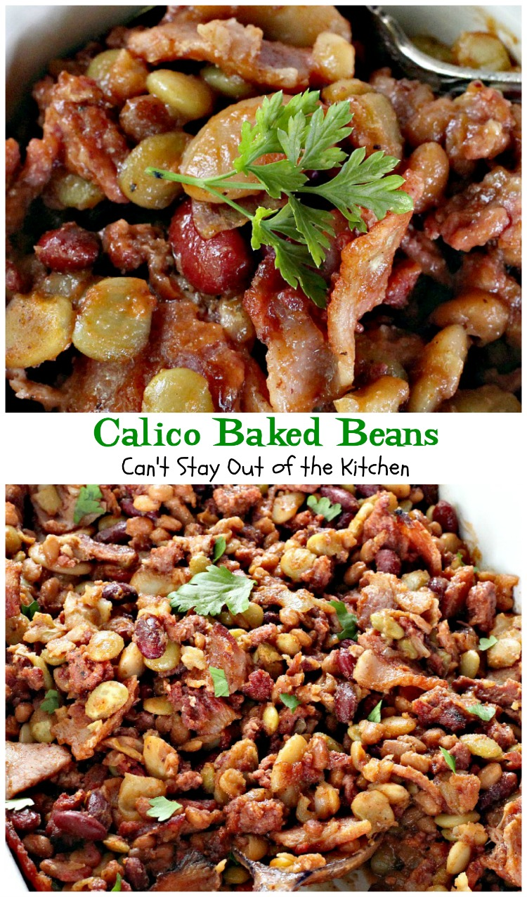 Calico Beans Recipe on Pinterest | Calico Beans, Calico Baked Beans ...
