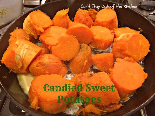 Candied Sweet Potatoes - IMG_1810