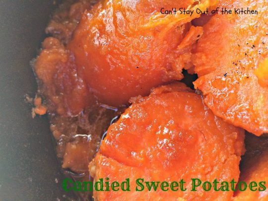 Candied Sweet Potatoes - IMG_1839