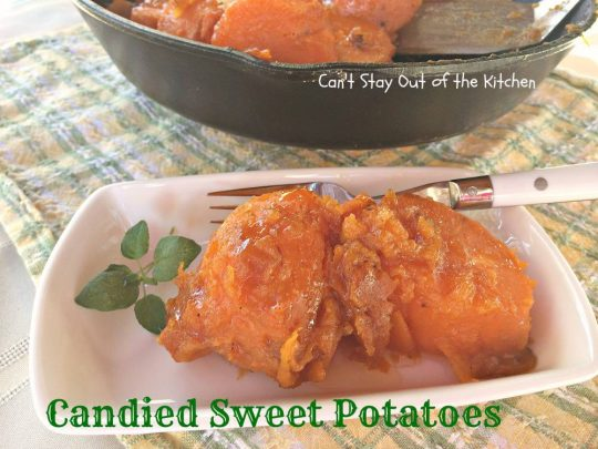 Candied Sweet Potatoes - IMG_1848
