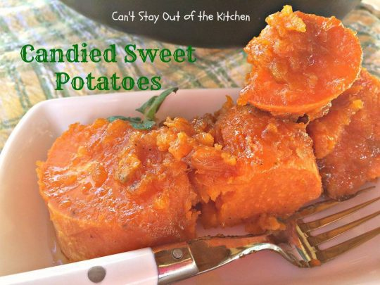 Candied Sweet Potatoes - IMG_1882