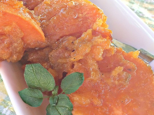 Candied Sweet Potatoes | Can't Stay Out of the Kitchen |