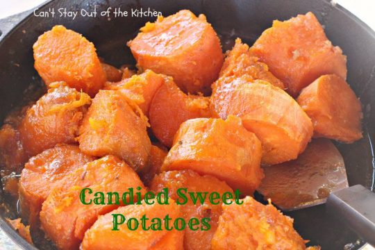 Candied Sweet Potatoes - IMG_8545