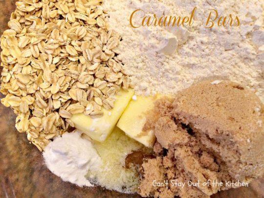 Caramel Bars - IMG_2074