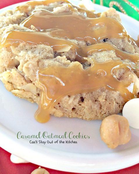 Caramel Oatmeal Cookies - IMG_2025