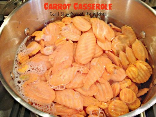 Carrot Casserole - Recipe Pix 21 069