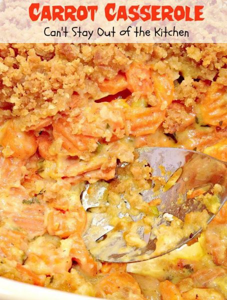 Carrot Casserole - Recipe Pix 21 335