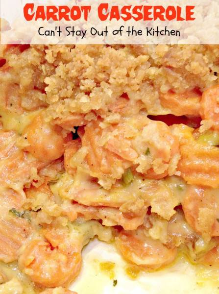 Carrot Casserole - Recipe Pix 21 337