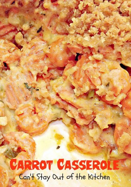 Carrot Casserole - Recipe Pix 21 338