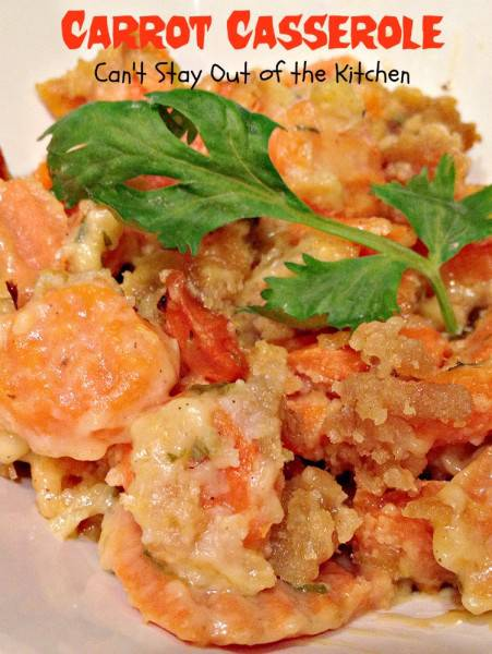Carrot Casserole - Recipe Pix 21 373