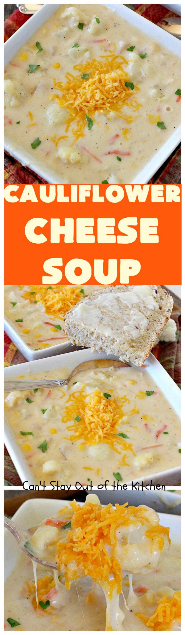 Cauliflower Recipes Soup Chowders