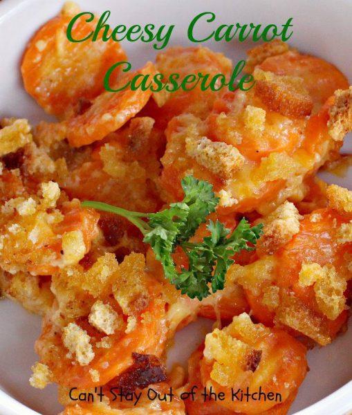 Cheesy Carrot Casserole - IMG_1937