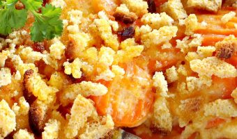 Cheesy Carrot Casserole