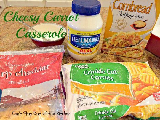 Cheesy Carrot Casserole - IMG_6247