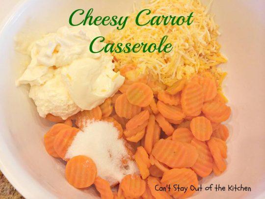 Cheesy Carrot Casserole - IMG_6248