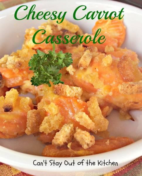 Cheesy Carrot Casserole - IMG_6414