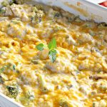Cheesy Chicken Broccoli and Rice Bake | Can't Stay Out of the Kitchen