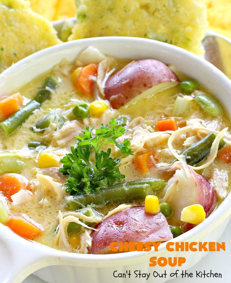 How long can chicken soup be left unrefrigerated