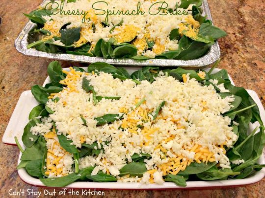 Cheesy Spinach Bake - IMG_9036