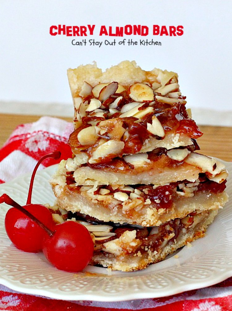 almond crumble cherry almond cake cherry almond focaccia cherry almond ...