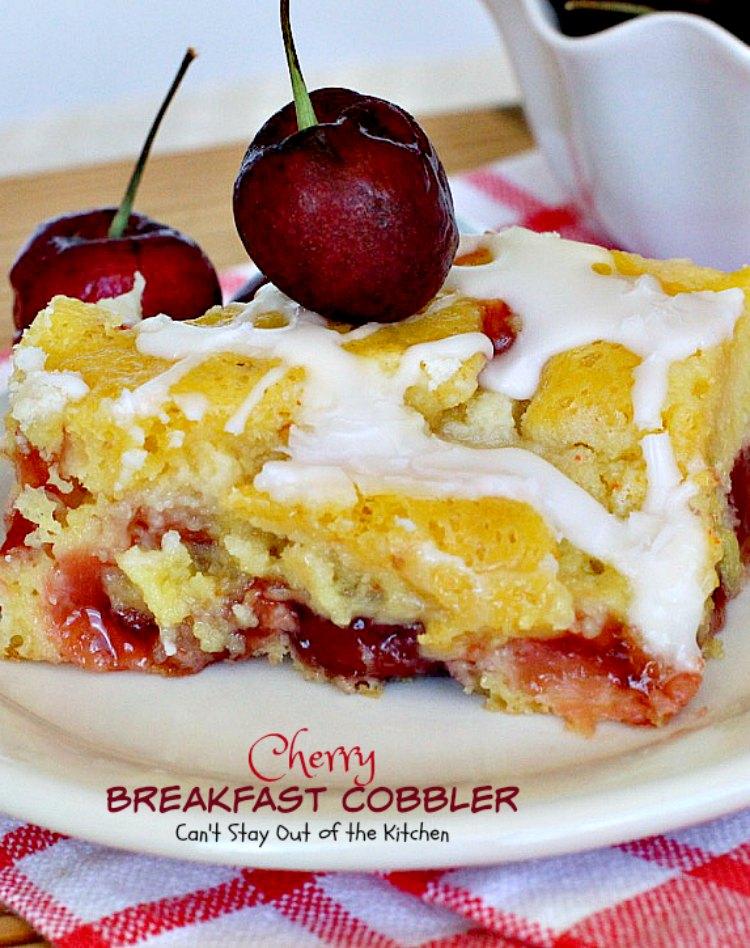 Recipe For Cherry Cobbler Using Cake Mix