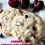 Cherry Chocolate Cookies | Can't Stay Out of the Kitchen | these delightful #cookies use only 4 ingredients! Yet they pack a powerful punch from the #CherryChipCakeMix & #ChocolateChips. Every bite will have you drooling. #chocolate #dessert #CherryCakeMix #CherryDessert #ChocolateDessert #CherryChocolateCookies #tailgating #fall #ChristmasCookieExchange #FallBaking #holidays #HolidayBaking