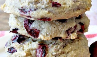 Cherry Cobbler Cookies