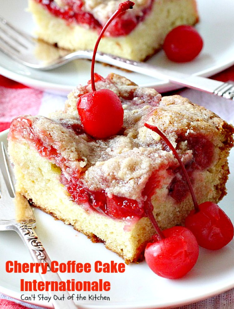 Cherry Coffee Cake Internationale