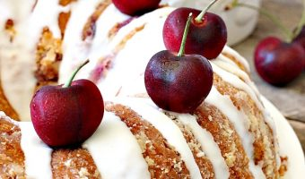 Cherry Cream Cheese Pound Cake